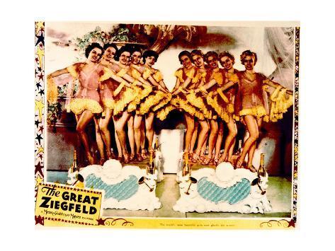 The Great Ziegfeld - Lobby Card Reproduction Art Print