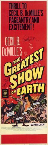 The Greatest Show on Earth, 1967 Konstprint