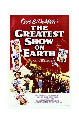 The Greatest Show on Earth Art Print