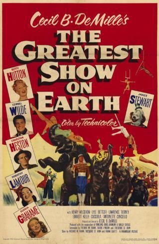 The Greatest Show on Earth Masterprint