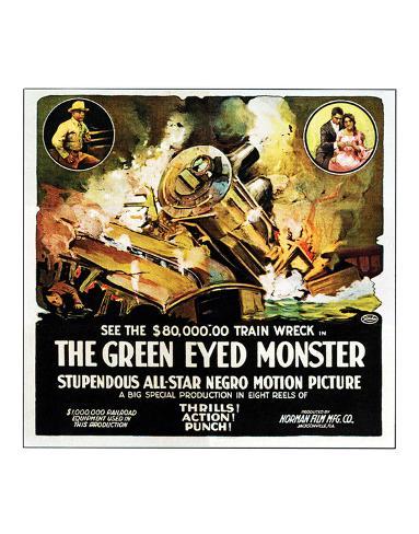 The Green Eyed Monster - 1919 Giclee Print