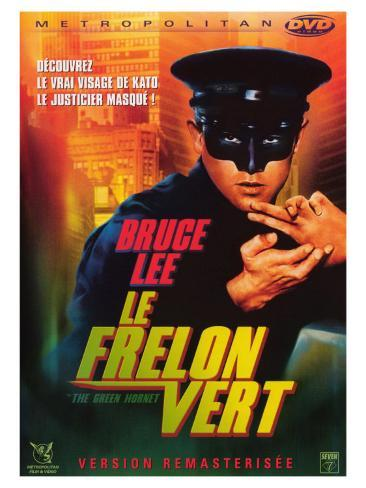 The Green Hornet, French Movie Poster, 1966 Art Print