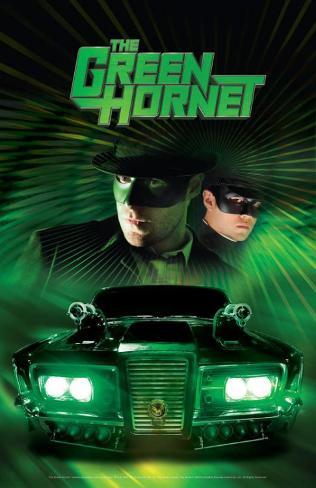 The Green Hornet Masterprint