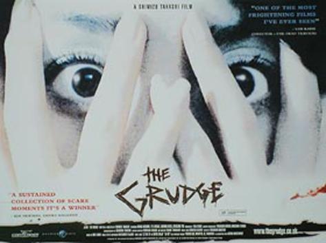 The Grudge (Sarah Michelle Gellar, Jason Behr, Clea Duvall) Movie Poster Original Poster