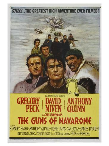 The Guns of Navarone, 1961 Art Print