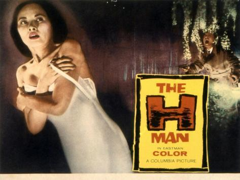 The H-Man, (aka Bijo to Ekitainingen), Yumi Shirakawa, 1958 Fotografia