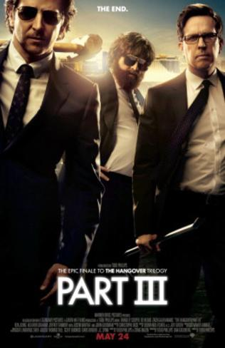 The Hangover part III (Bradley Cooper, Zach Galifianakis, Ed Helms) Movie Poster Double-sided poster
