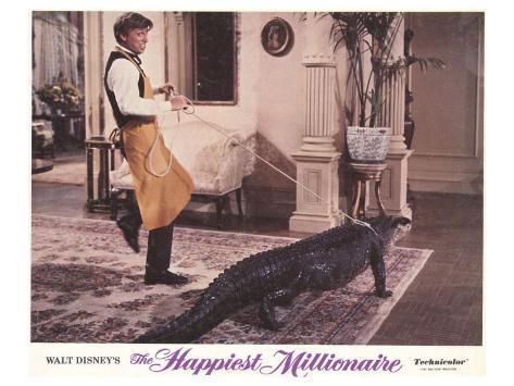 The Happiest Millionaire, 1968 Konstprint