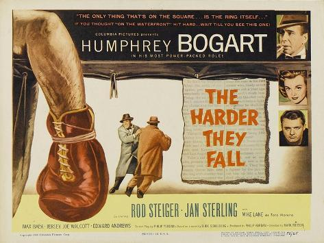 The Harder They Fall, 1956 Art Print