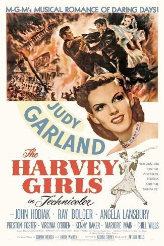The Harvey Girls, 1946, Directed by George Sidney Impressão giclée