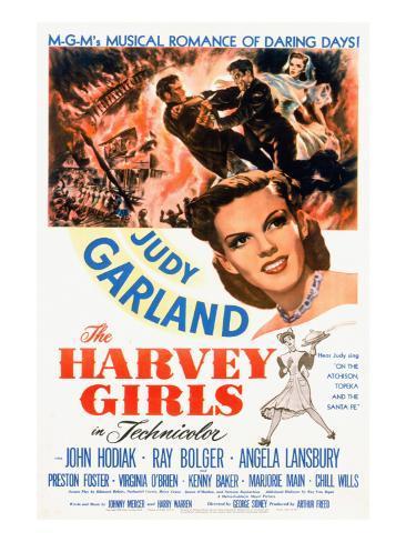 The Harvey Girls, Judy Garland, 1946 Fotografía