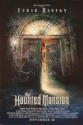 The Haunted Mansion Double-sided poster