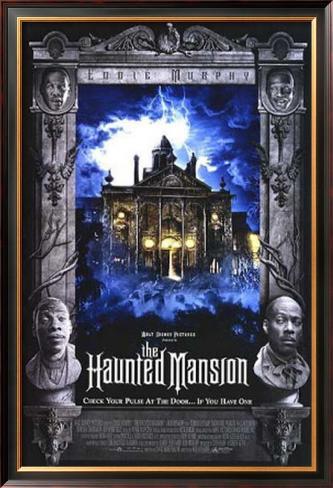 The Haunted Mansion Pôster emoldurado