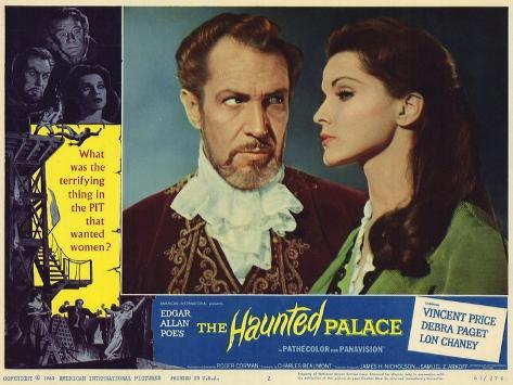 The Haunted Palace, 1963 Art Print
