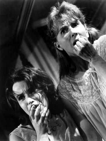 The Haunting, Claire Bloom, Julie Harris, 1963, Fear Stretched Canvas Print