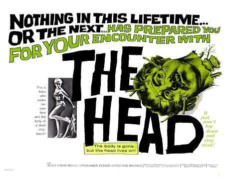 The Head, 1962 Art Print