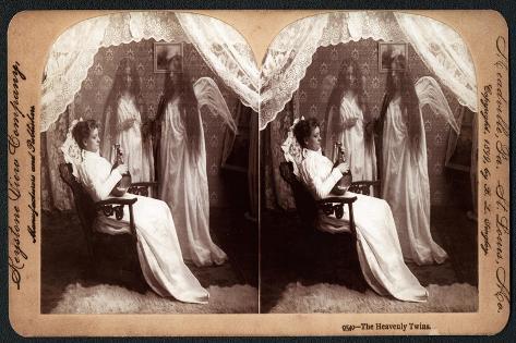 The Heavenly Twins, 1899 Lámina giclée