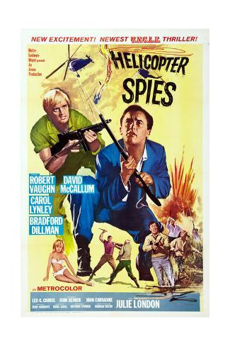 The Helicopter Spies Impressão giclée