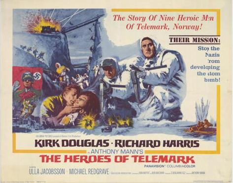 The Heroes of Telemark -  Style Poster
