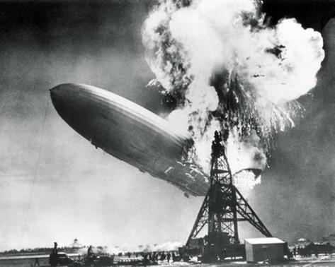 The Hindenburg Disaster Photo