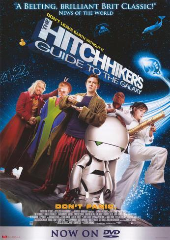 The Hitchhiker's Guide to the Galaxy Masterprint
