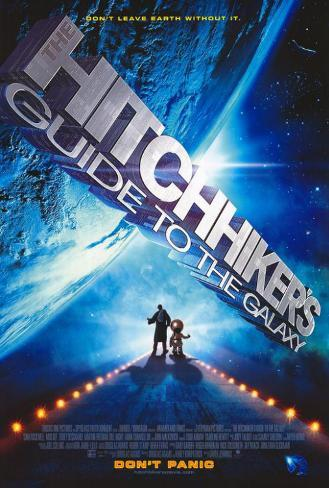 The Hitchhiker's Guide to the Galaxy Poster