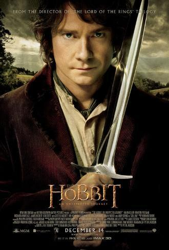 The Hobbit - An Unexpected Journey - Bilbo Baggins Double-sided poster