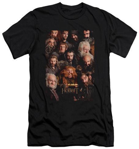 The Hobbit: An Unexpected Journey - Dwarves Poster (slim fit) T-Shirt