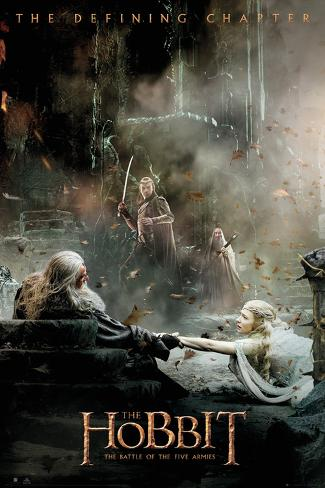 The Hobbit - Battle of Five Armies Aftermath Poster