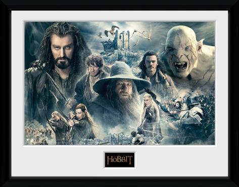The Hobbit- Battle Of Five Armies Collage Collector Print