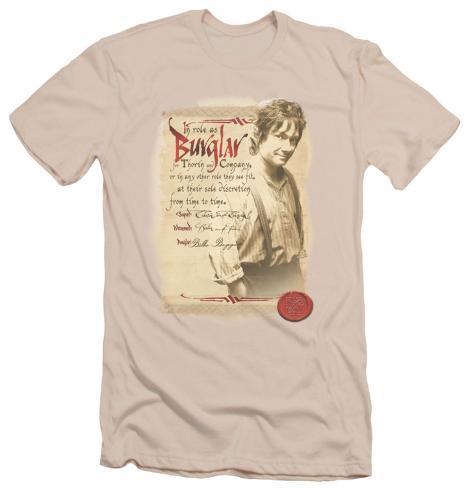 The Hobbit - Burglar (slim fit) T-Shirt