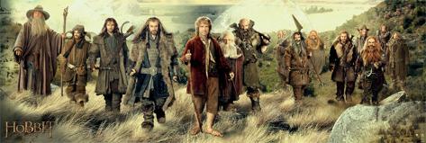 The Hobbit - Company Poster