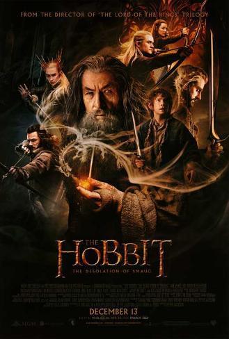 The Hobbit: The Desolation of Smaug Masterprint