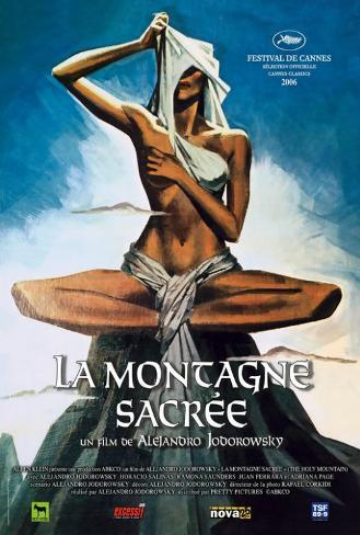The Holy Mountain - French Style Poster