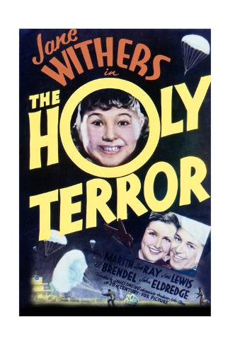 The Holy Terror - Movie Poster Reproduction Art Print