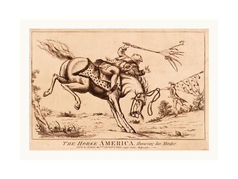 The Horse America Giclee Print