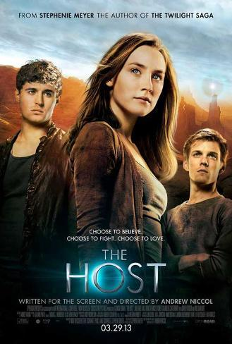 The Host (Saoirse Ronan, Max Irons, Jake Abel) Movie Poster Poster