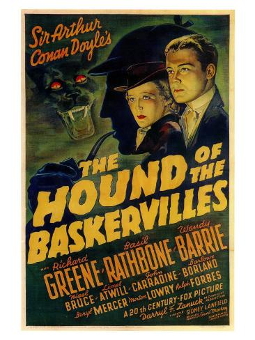 The Hound of The Baskervilles, 1939 Art Print