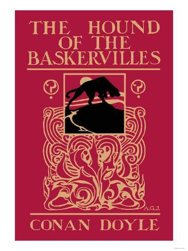 The Hound of the Baskervilles III Art Print