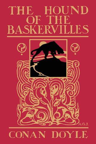 The Hound of the Baskervilles III Väggdekal