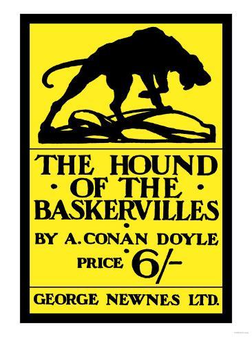 The Hound of the Baskervilles IV Impressão artística