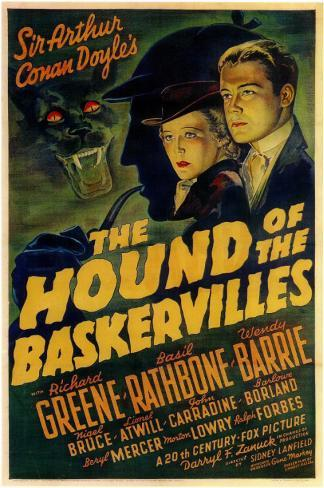The Hound of the Baskervilles Masterprint