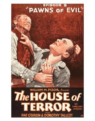 The House Of Terror - 1928 Giclee Print