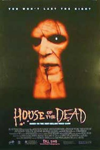 The House Of The Dead Double-sided poster