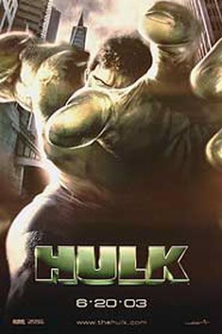 The Hulk Double-sided poster