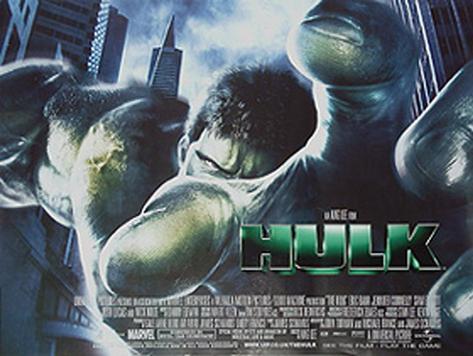 The Hulk Original Poster