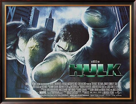 The Hulk 額入りポスター