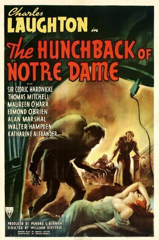 The Hunchback of Notre Dame, 1939 Art Print