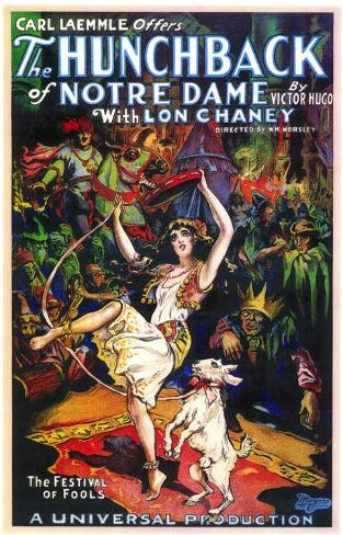 The Hunchback of Notre Dame Masterprint