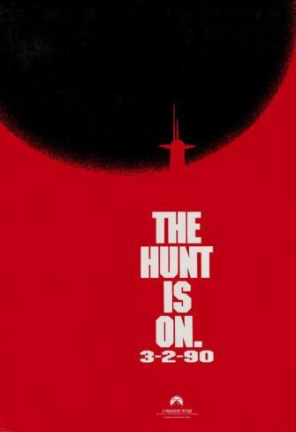 The Hunt for Red October Masterprint
